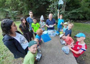 Auf die Kinder wartete ein abwechslungsreiches Programm – mit Ausflügen unter anderem ins Brexbachtal und einem Hip-Hop-Workshop.