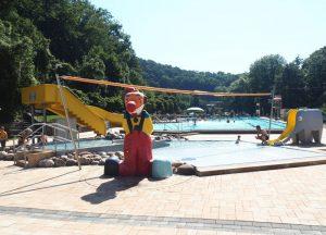 Das idyllisch im Sayntal gelegene Bad ist bei Einwohnern und Gästen gleichermaßen beliebt.