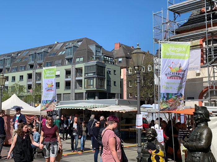 Koblenzer Wochenmarkt wieder in städtischer Hand