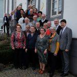 Mitglieder des städtischen Seniorenbeirats und der Stadtverwaltung kamen zu einer Feierstunde in der StadtGalerie zusammen.