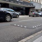 Berliner Kissen sollen Raser in der Marktstraße bremsen