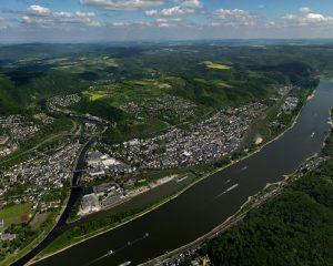 Lahnstein von oben (Foto: Gerhard Launer)