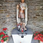 Statue des Heiligen Sebastian in Niederlahnstein (Foto: Ferdi Müller)