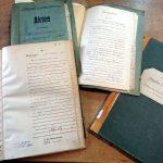 Verschiedene Archivalien (Fotos: Bernd Geil / Stadtarchivar Lahnstein)