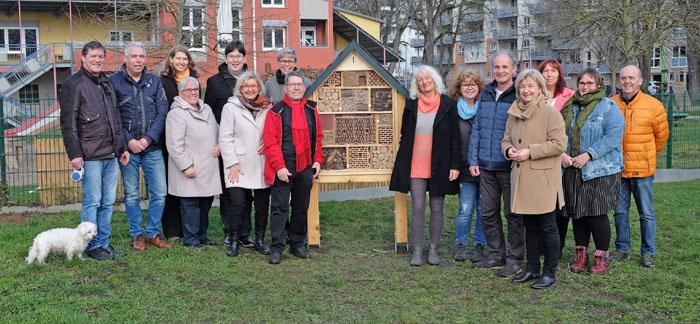 Neuwied: Insektenhotel in den Goethe-Anlagen aufgestellt