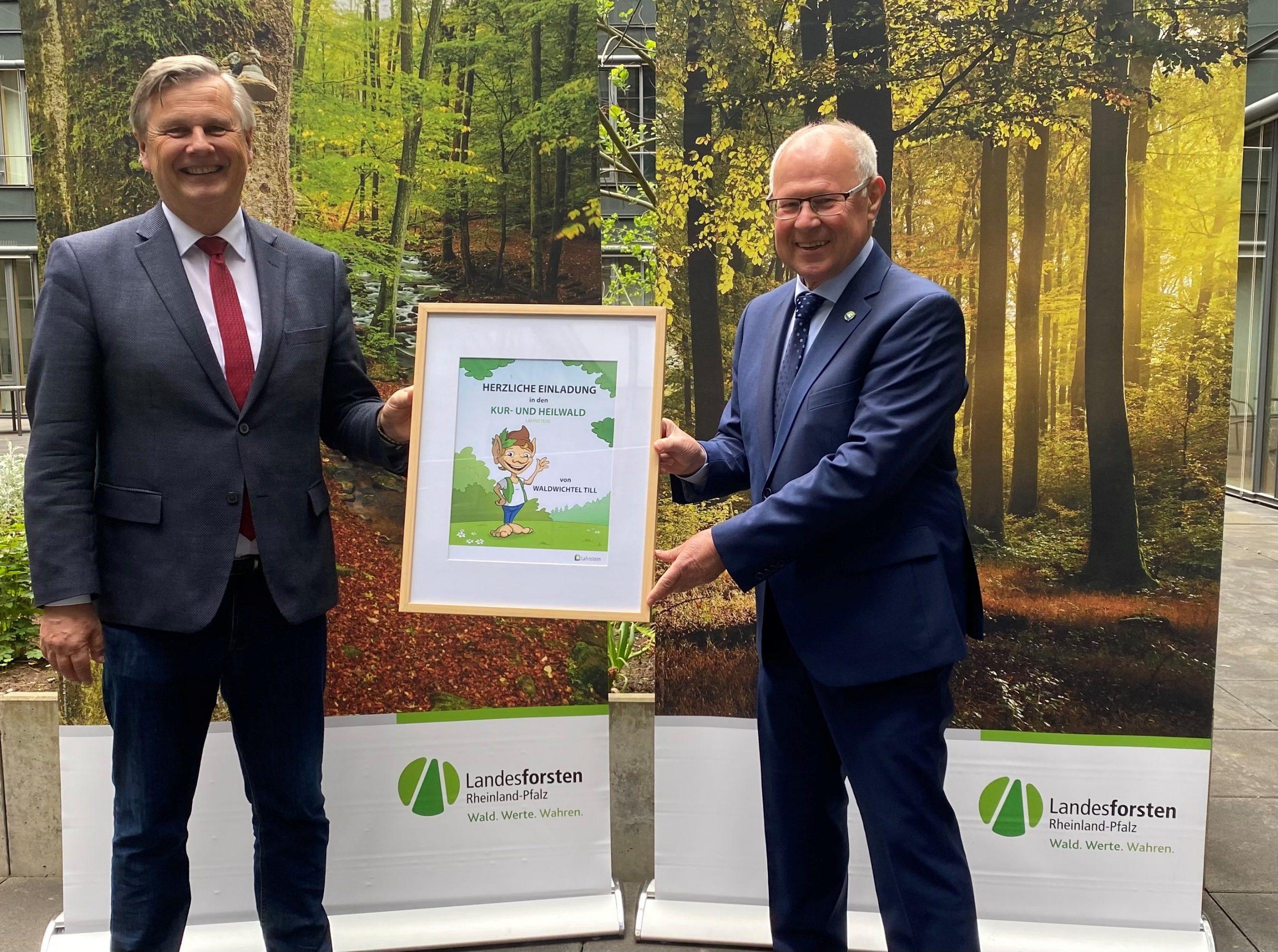 Jetzt ist es amtlich: Lahnstein hat ersten Kur- und Heilwald in Rheinland-Pfalz