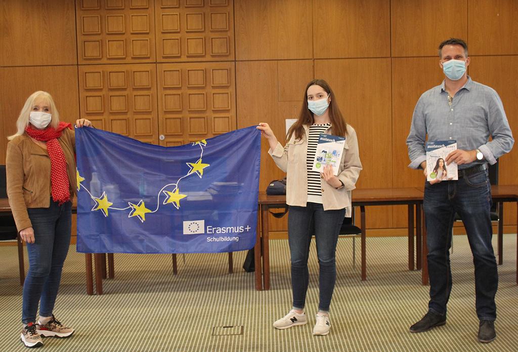 Kultur- und Schulverwaltungsamt als Schulträger für Erasmus+ Programm akkreditiert