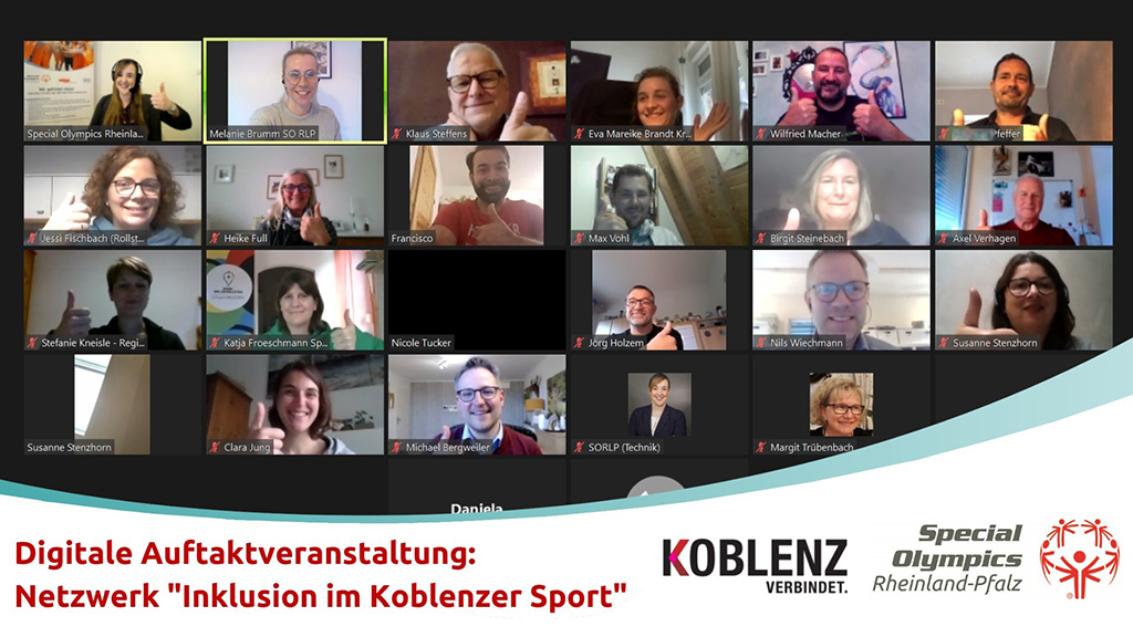 Koblenz inklusiv vernetzt – Gelungene Auftaktveranstaltung für mehr Teilhabe im Sport!
