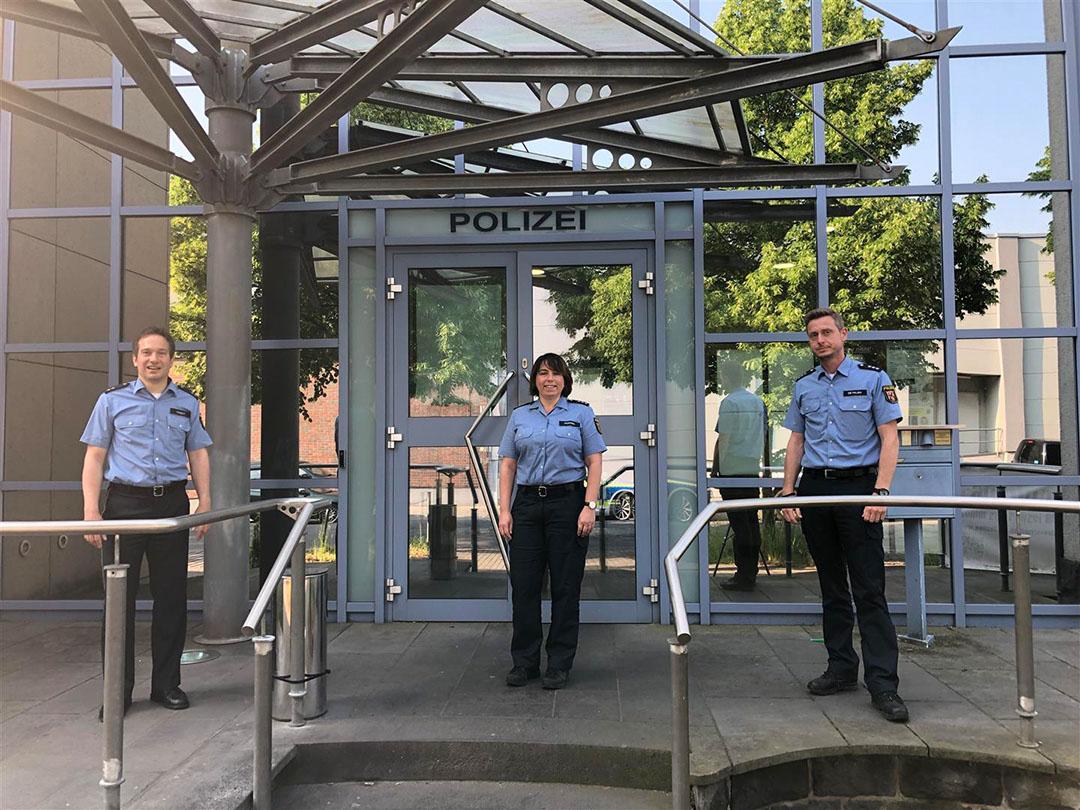 Ute Fränzel ist neue Polizei-Bezirksbeamtin für die Neuwieder Innenstadt