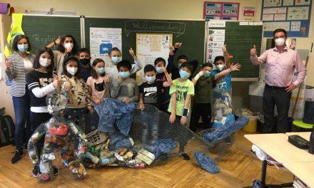Kinder beschäftigten sich intensiv mit Umweltschutz – Projektwoche an Marienschule – Lob vom Kooperationspartner