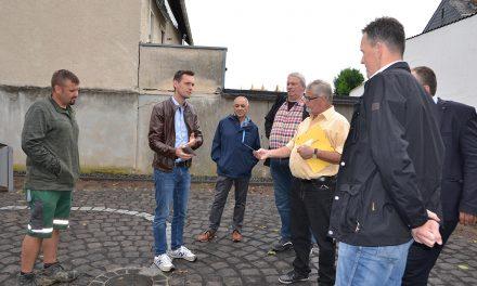 Bauarbeiten am neuen Dorfplatz Kesselheim sind abgeschlossen