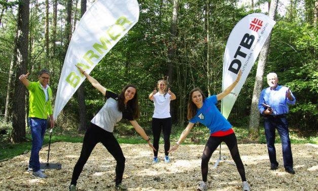 Fitness-Trail im Kapellenwald eröffnet