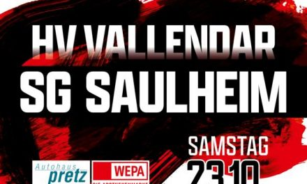 HV Vallendar – HV Vallendar verliert nach starkem Fight knapp in Offenbach – Am Samstag kommt die SG Saulheim auf den Mallendarer Berg