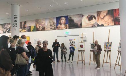 """Eröffnung der Schülerausstellung """"Natürlich Farbe"""" im Mittelrhein-Museum"""